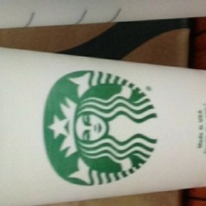 Starbucks cup set